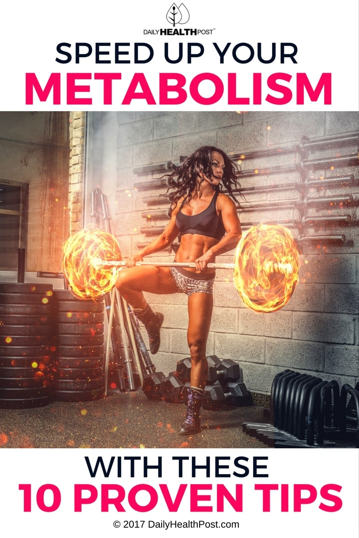 speed up your metabolism with these 10 proven tips