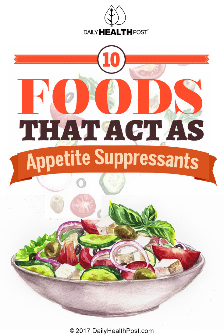 How to repel appetite. Appetite suppressants 93
