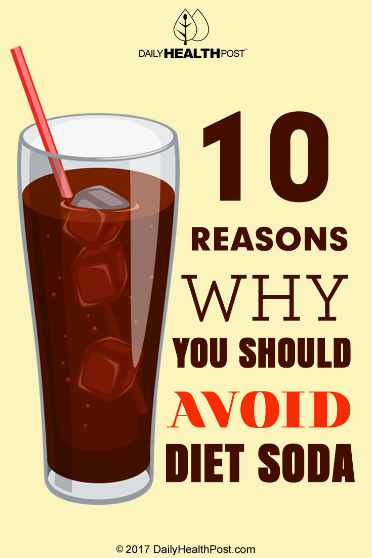 10 Reasons Why You Should Avoid Diet Soda