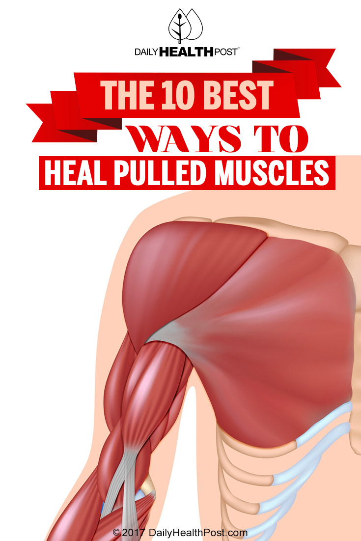 heal pulled muscles