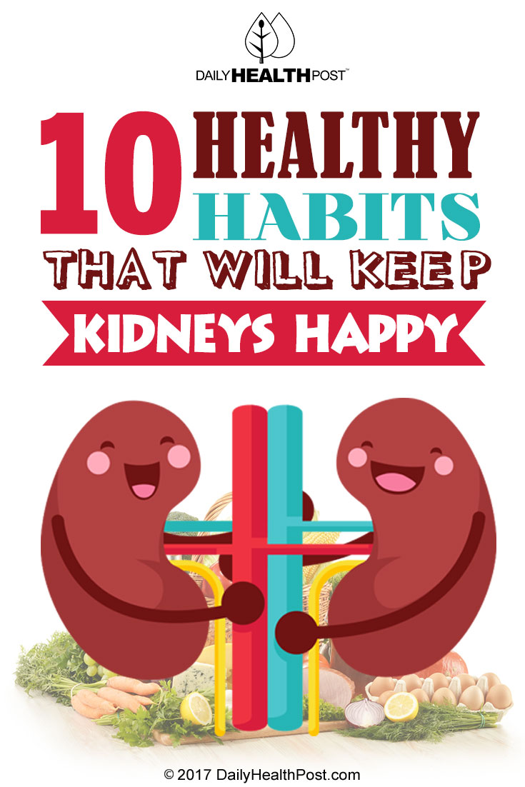 healthy habits kidney