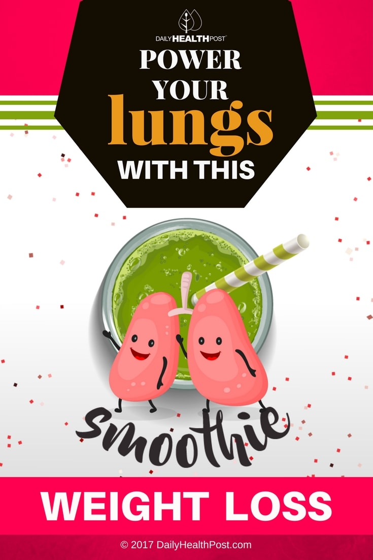 smoothie for lungs