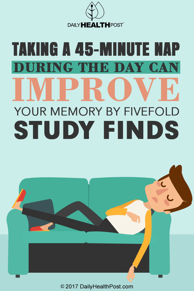 napping improves memory