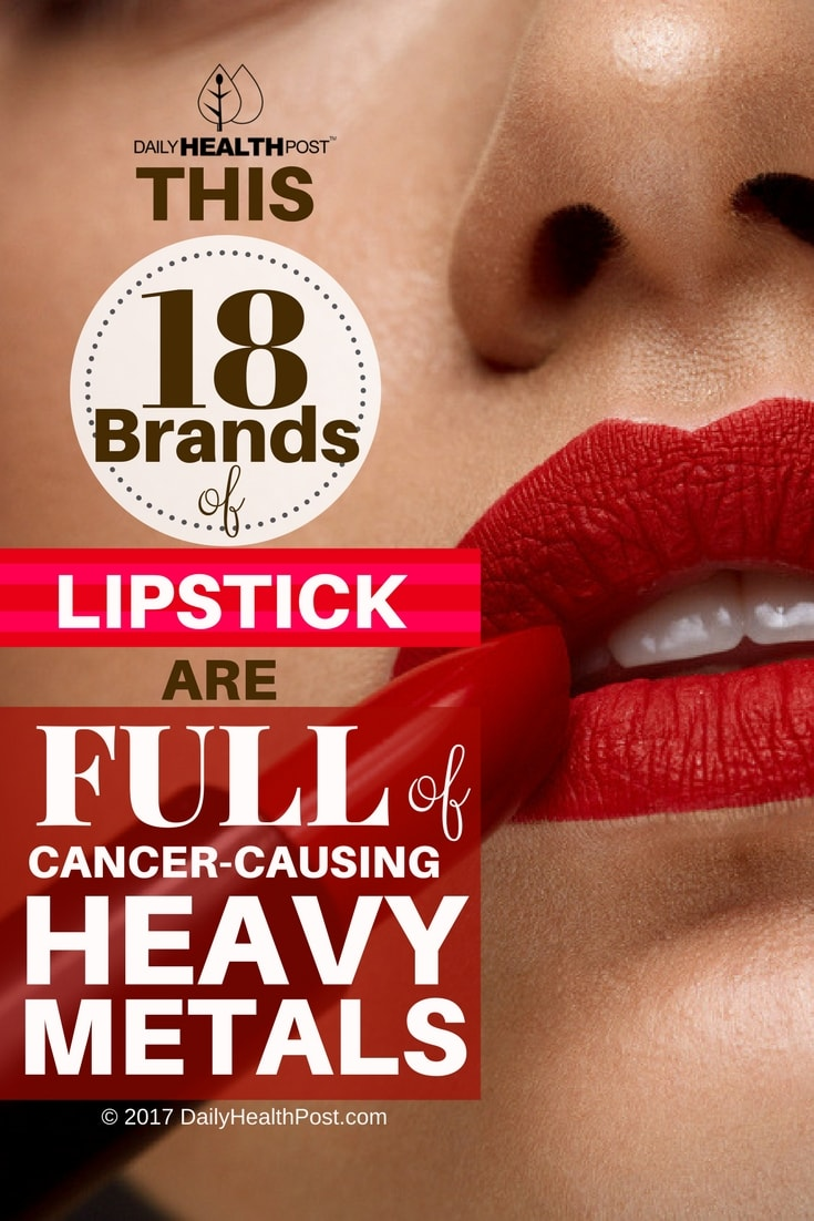 lipstick heavy metals