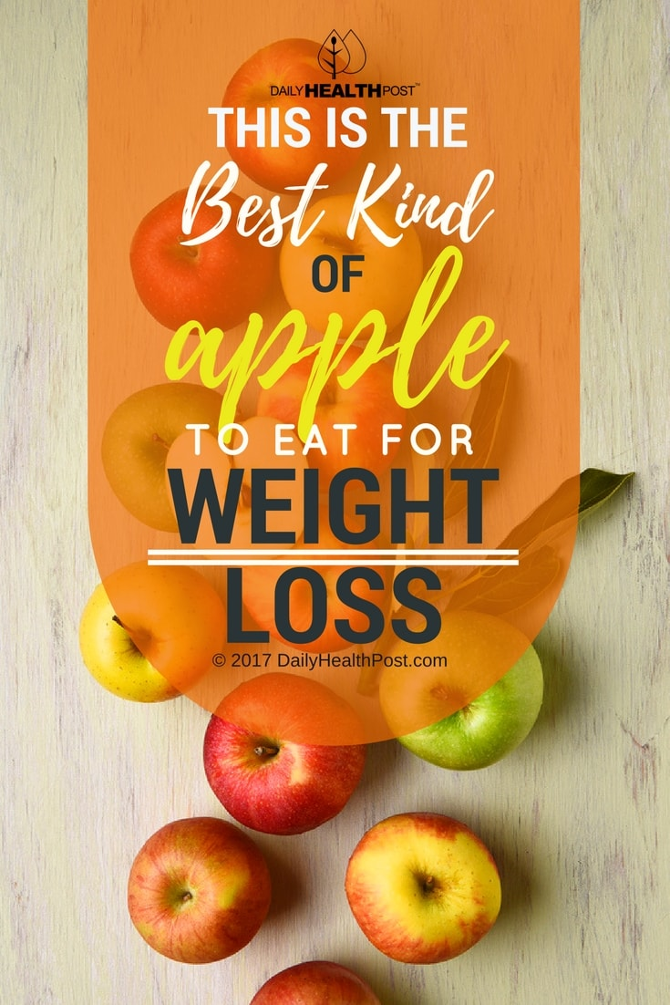 Eating apples and losing weight