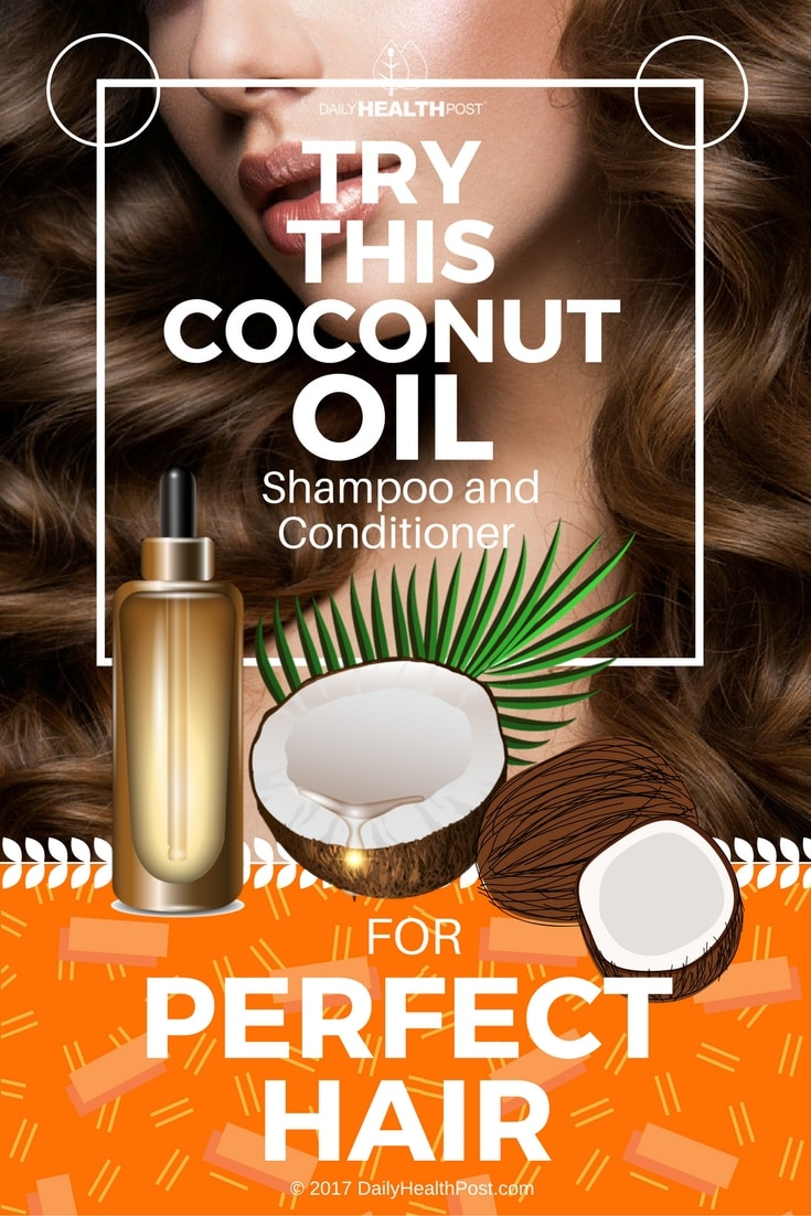 coconut oil shampoo and conditioner