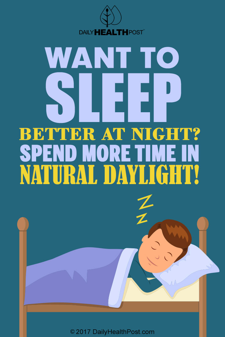 better sleep natural daylight