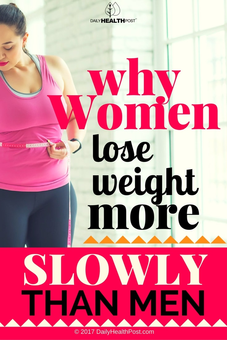 Why Women Lose Weight More Slowly Than Men