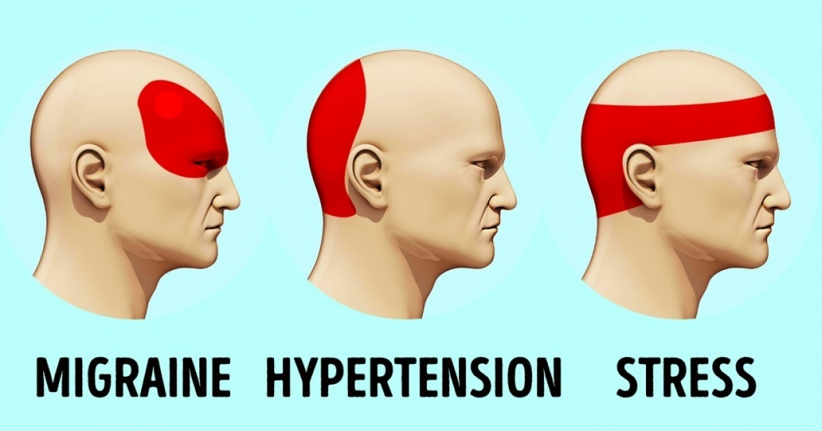 6 pressure points for headaches that provide relief in just 5 minutes