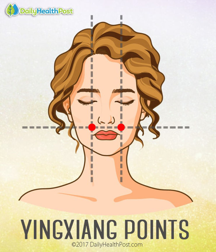pressure points for headaches