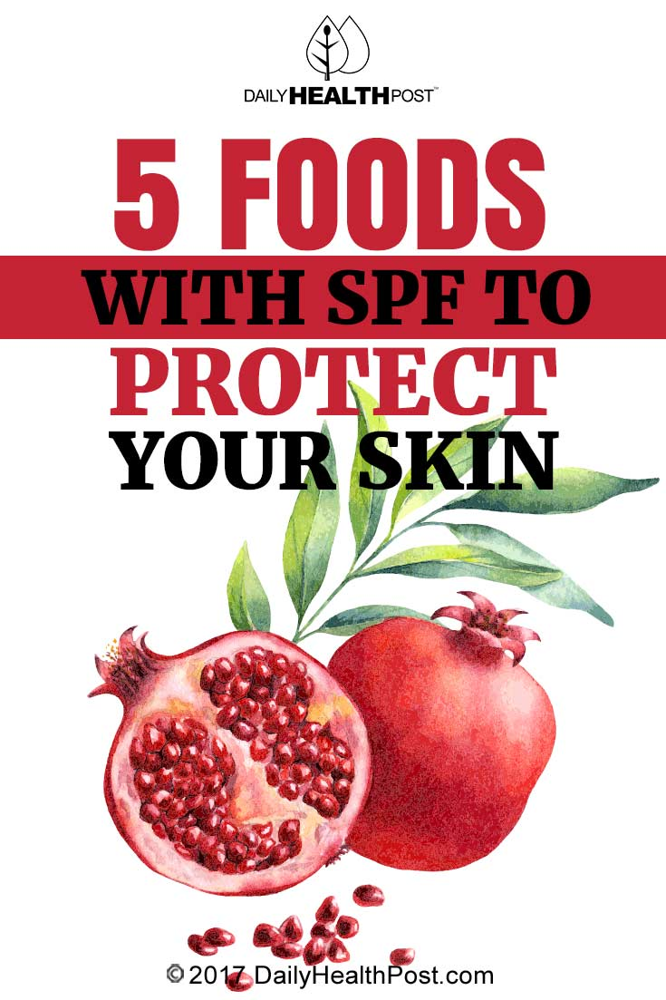 5 Foods With Spf To Protect Your Skin