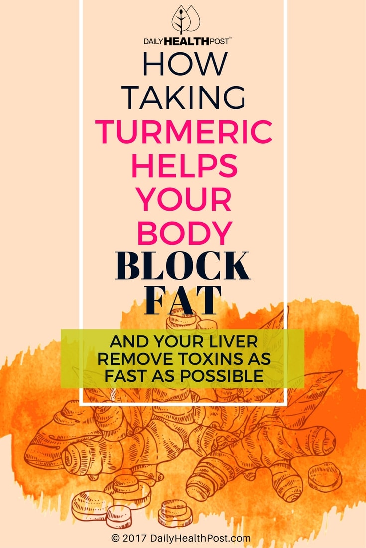 turmeric blocks fat