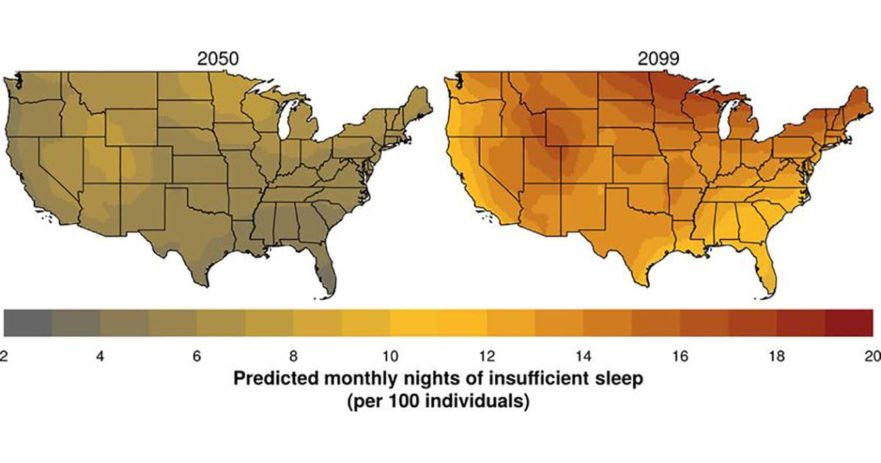 global warming sleep loss