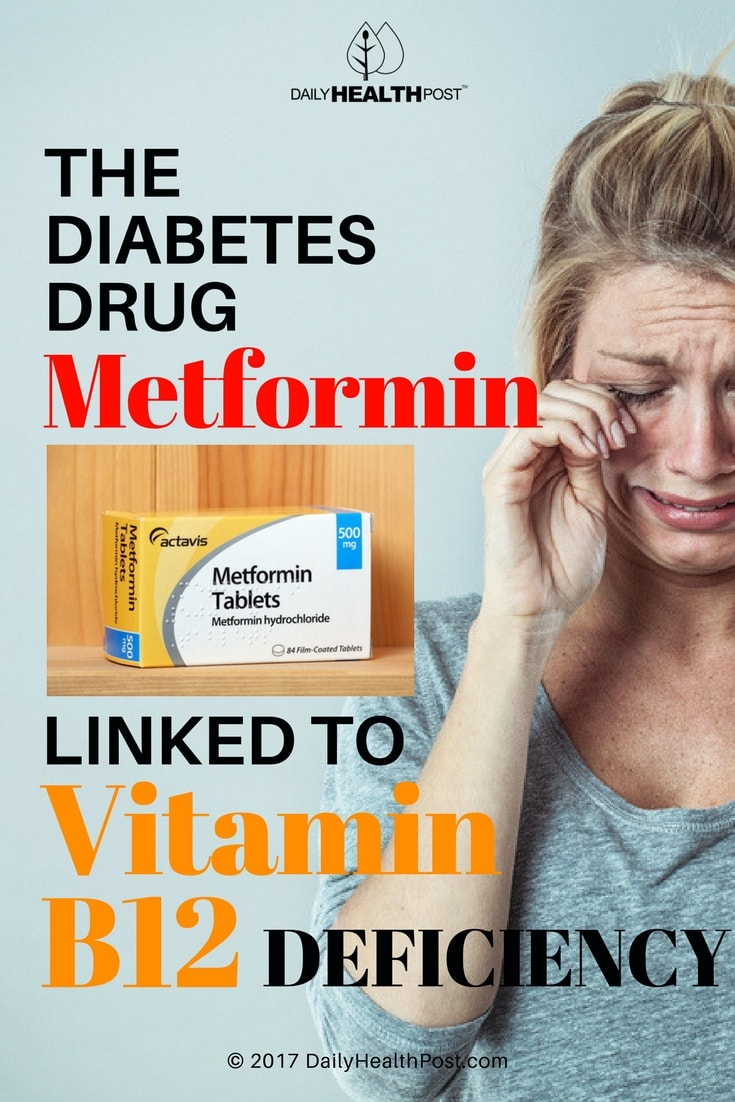 diabetes drug metformin linked to vitamin B12 deficiency