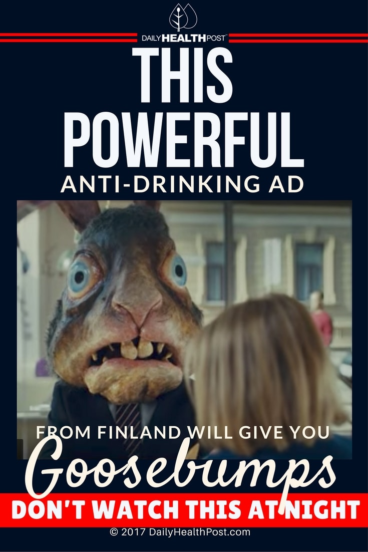 Anti Drinking Ad From Finland Will Give You Goosebumps