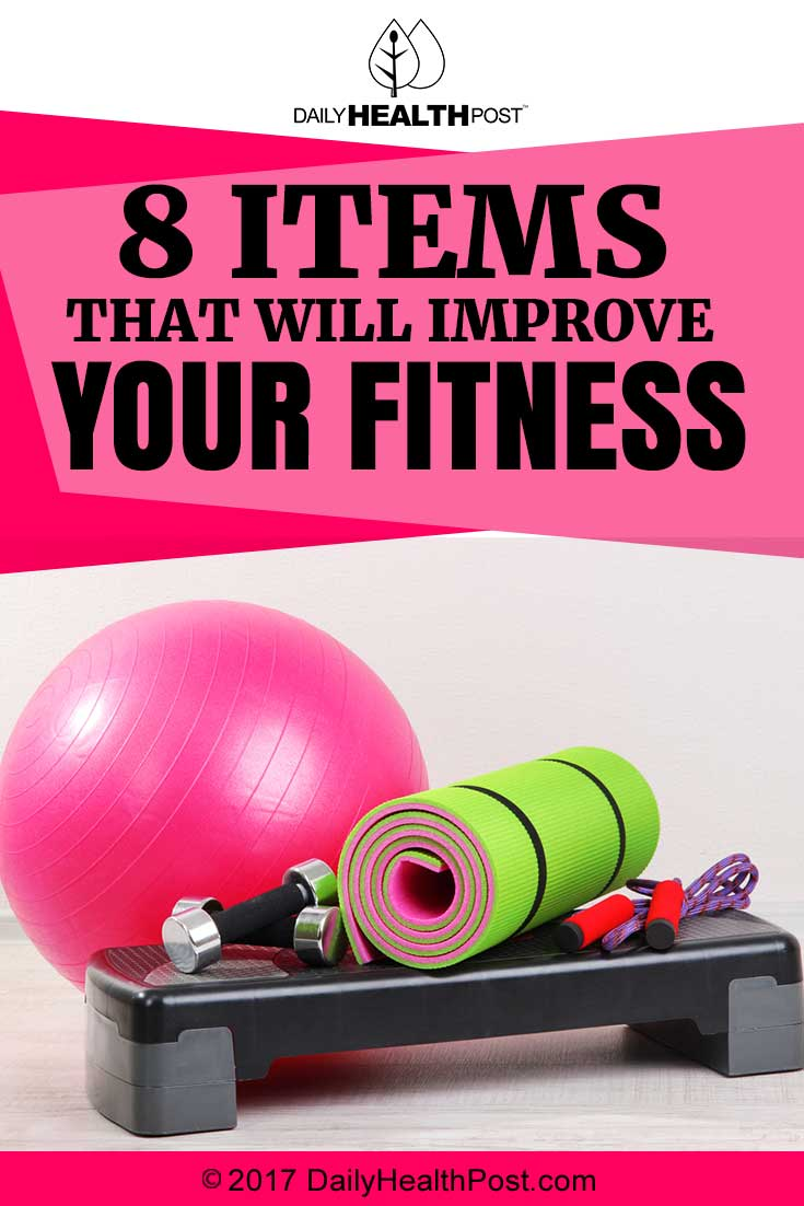 8 Items That Will Improve Your Fitness