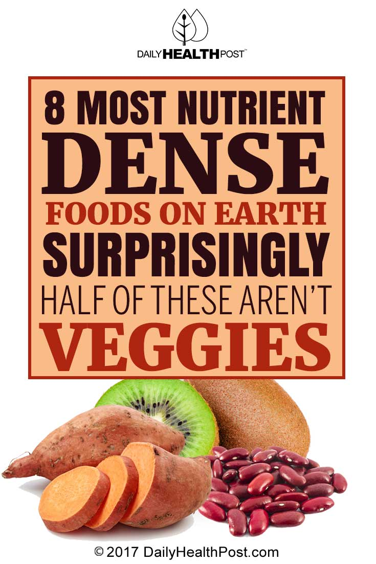 Most Vitamin Dense Foods List