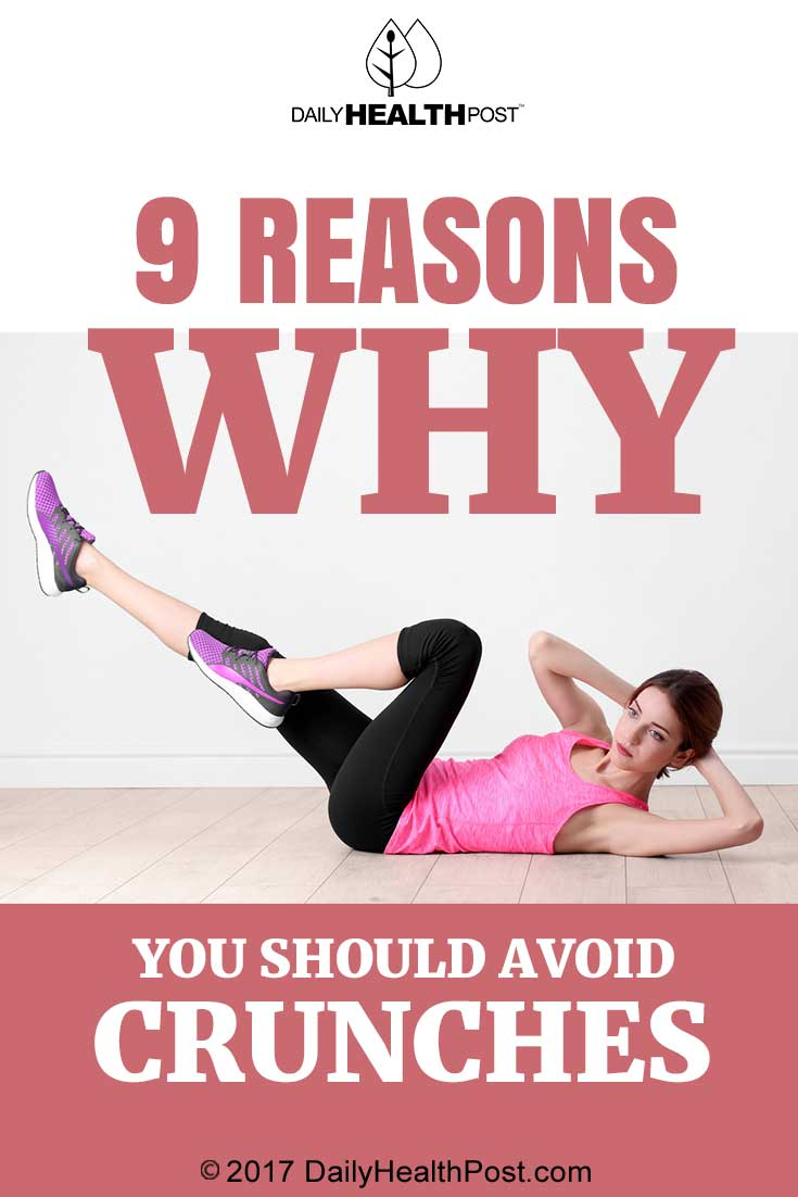 9 Reasons Why You Should Avoid Crunches