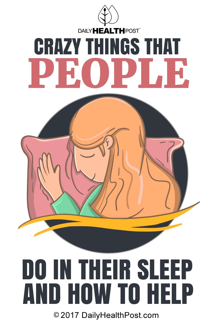 things people do in sleep