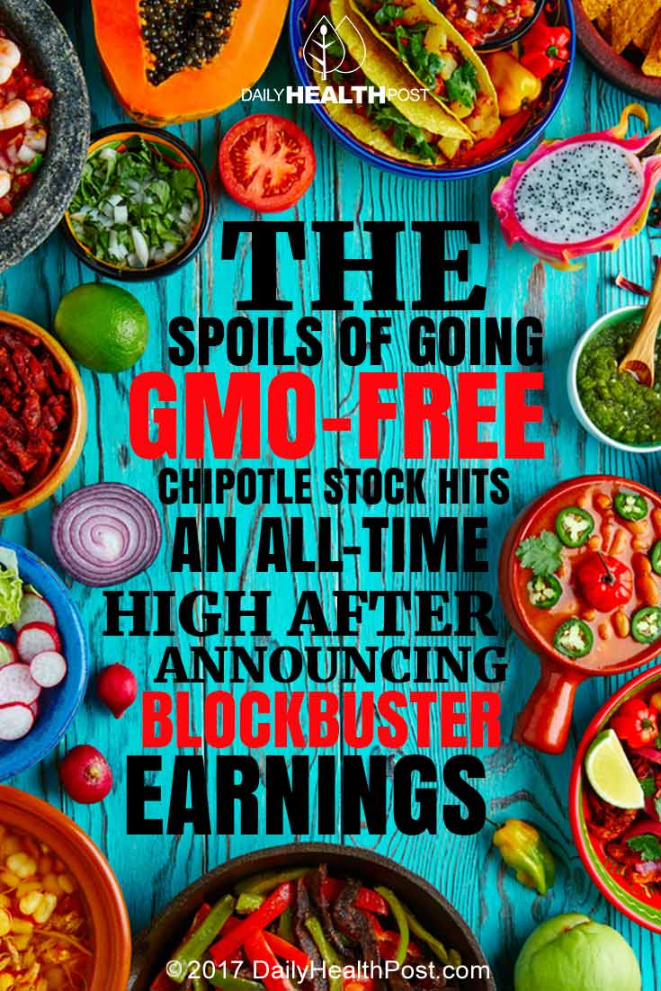The Spoils of Going GMO Free: Chipotle Stock Hits an All-Time High ...