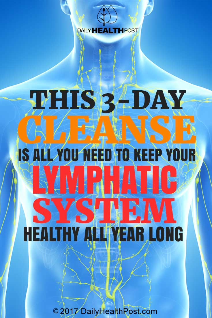 lymphatic system cleanse