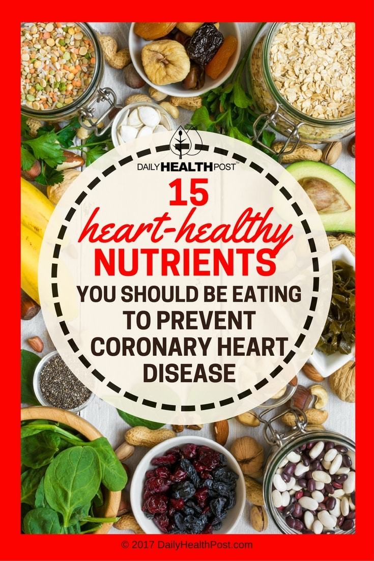 heart healthy nutrients