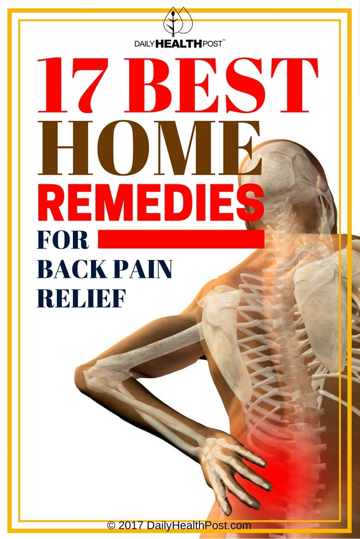 home remedies for pain relief