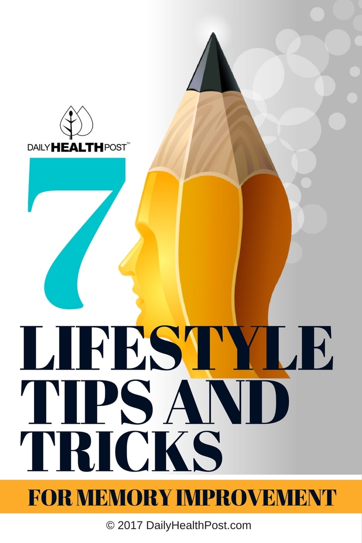 7 lifestyle tips and tricks for memory improvement