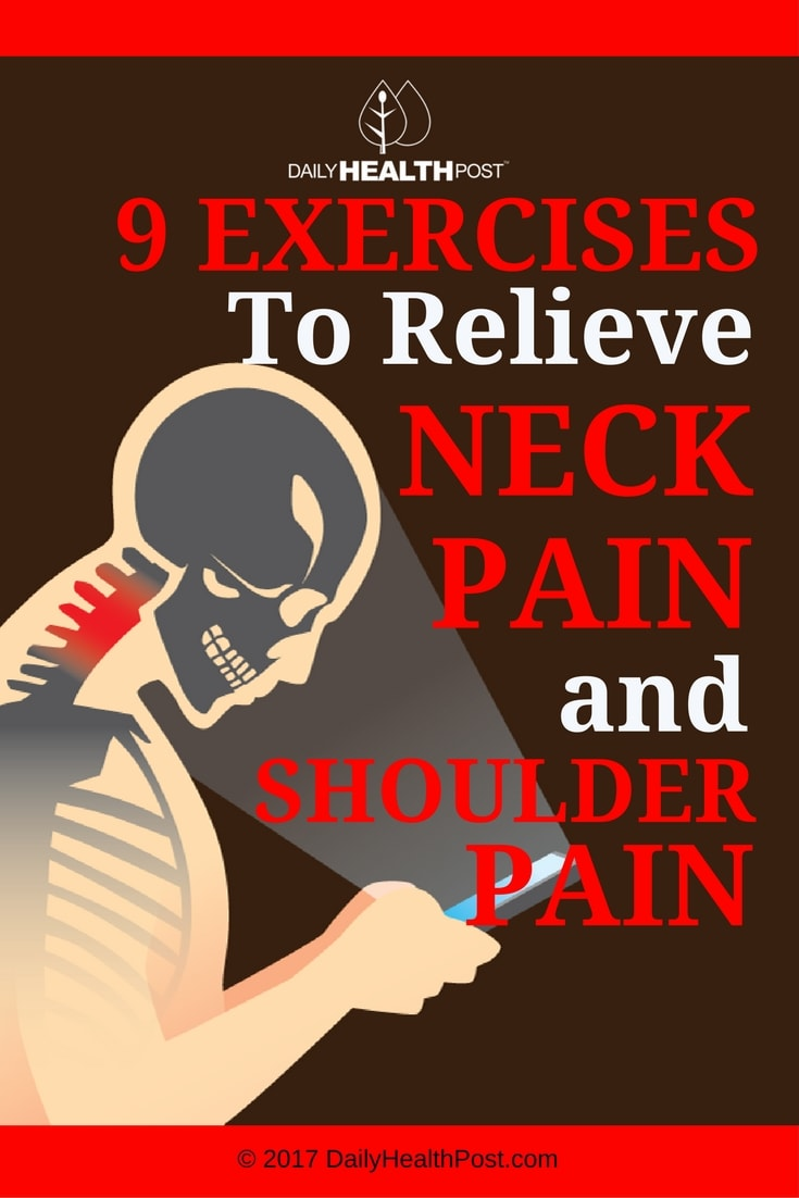 exercises relieve neck pain