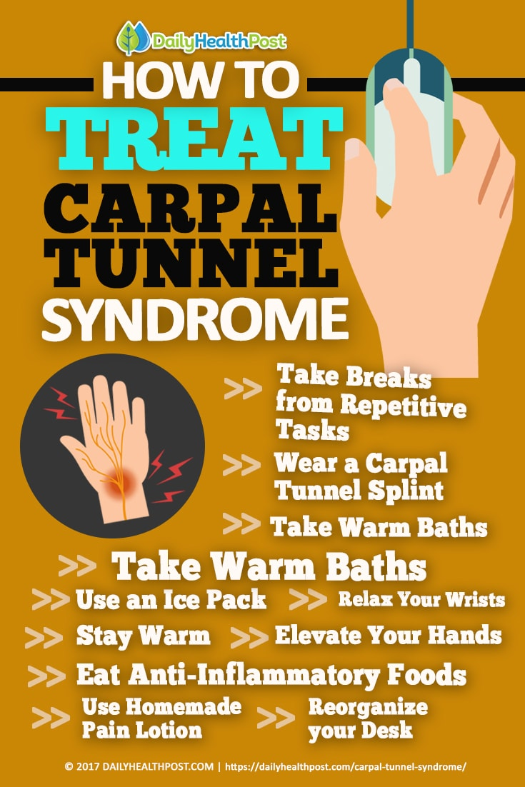 how to relieve numbness in hands from carpal tunnel