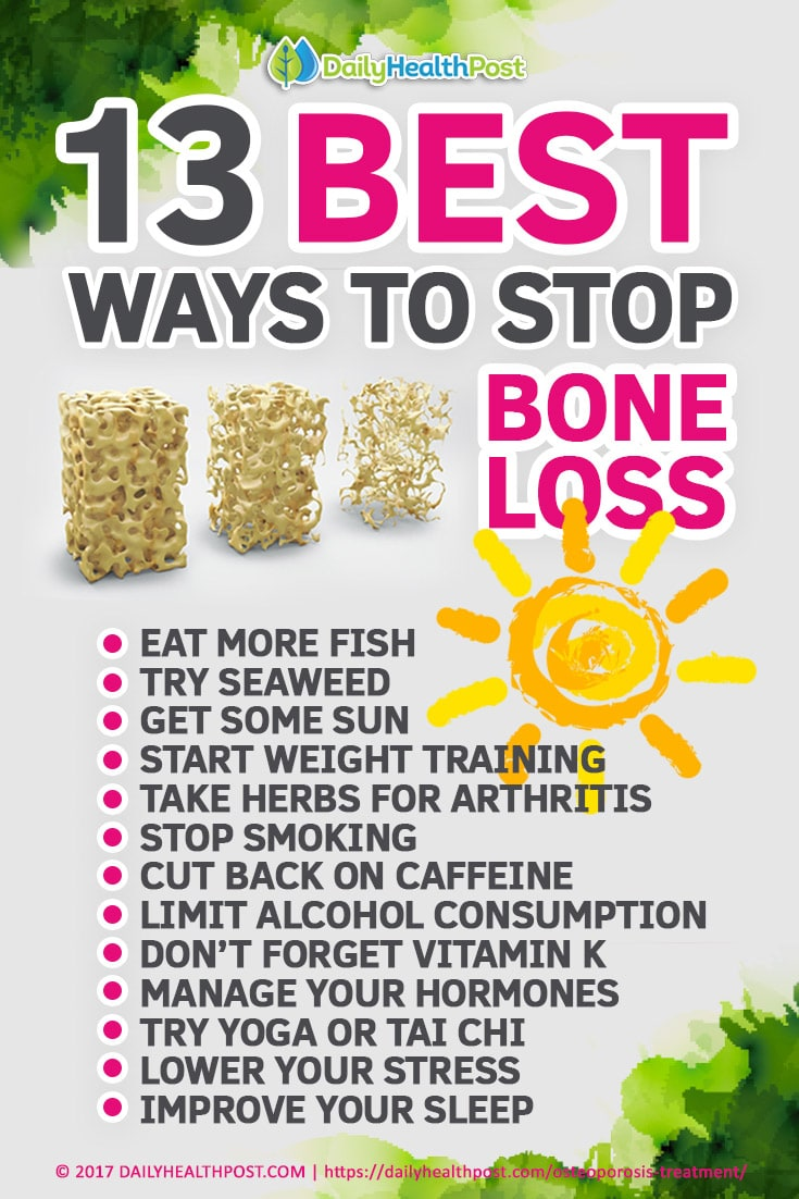 Natural Ways To Treat And Prevent Osteoporosis