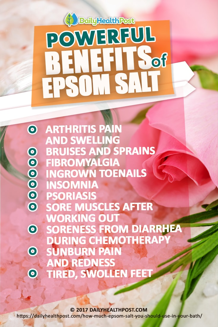 how much epsom salt for bath