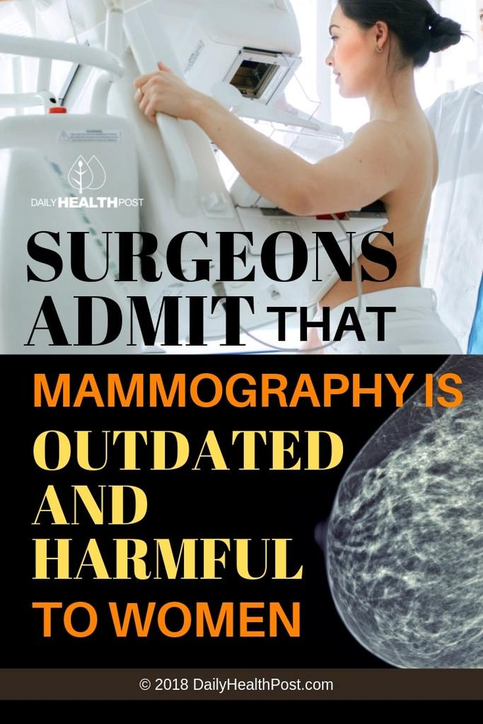 mammograms side effects