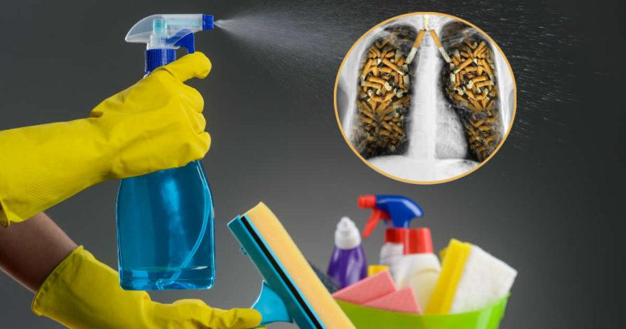 toxic cleaning products