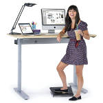 health benefits of standing desks